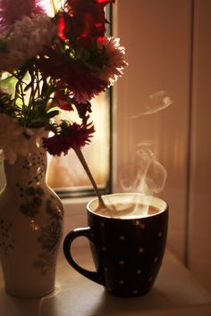 serenity is found in a tea cup.