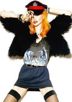 Eccentric Rockstar Fashion  'Strange Fruit' by Mohamed Gaff Stars an Edgy Bonnie Strange
