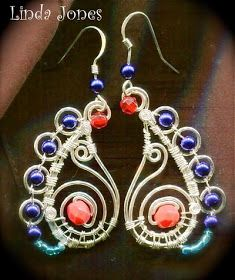 The Beading Gem's Journal: Wire Paisley Jewelry Tutorial
