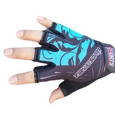 Спортивные перчатки на полпальца, унисекс