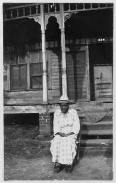 Emma Taylor , 89, was born a slave of the Greer family, in Mississippi. She and her mother were sold to a Texas man, whose name Emma has forgotten. Emma lives with one of her children, in Tyler, Texas.