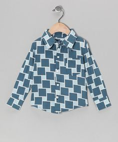 Take a look at this Twilight Lattice Button-Up - Infant, Toddler & Boys by KicKee Pants on #zulily today!