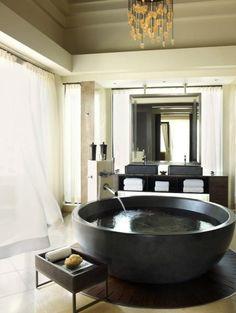 Four Seasons Resort Mauritius at Anahita, presidential suite bathroom