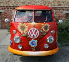 Art VW Sunflower bolers-campers-and-trailers