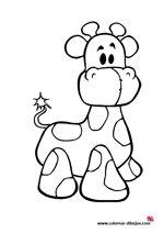 dibujo facil de peluche de jirafa para dibujar