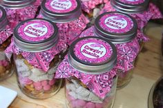 Cowgirl birthday party FAVORS