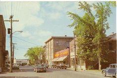 'Steadman 5¢ Store', rue Église, emplacement avant le Brass Bar