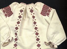 Hello all, Today I will talk about another type of embroidery from Eastern Podillia, specifically the southern parts of Khmel& Folk Embroidery, Types Of Embroidery, Embroidery Dress, Embroidery Designs, Folk Costume, Costumes, Folk Clothing, Traditional Outfits, Stitch