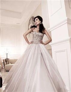 Metallic Princess Gown