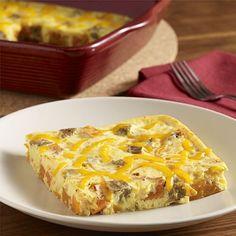 Enamoured of potato Egg Beater casserole