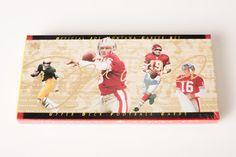Sealed Vintage 90s Joe Montana Career Upper Deck NFL Trading Cards Set, San Francisco 49ers, Kansas City Chiefs