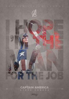 The Avengers on Behance – Captain America