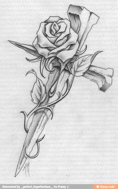 Cross Tattoos - Top 153 Designs and Artwork for the Best Cross Tattoo - Best . - Cross tattoos – top 153 designs and artwork for the best cross tattoo – best tattoo ideas - Future Tattoos, Love Tattoos, Beautiful Tattoos, Body Art Tattoos, Tattoos For Guys, Tatoos, Tattoo Arm, Thai Tattoo, Tattoos With Roses