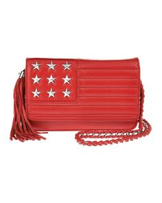 Studded Flag Leather Crossbody - Online Exclusive, Main View