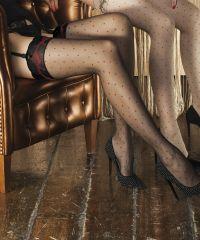 Moda Italia Rakuten branch: TRASPARENZE RAME garter belts garter pantyhose - Purchase now to accumulate reedemable points! Stockings Legs, Stockings Lingerie, Sexy Lingerie, Polka Dot Tights, 2015 Trends, Pantyhose Legs, Leggings, Looking For Women, Hosiery