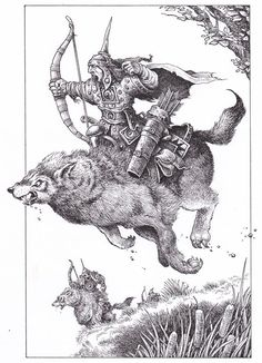 """""""Lone Wolf - The Board Game"""" designed and illustrated by Gary Chalk"""