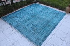 Turquoise Rug, Rugs, Awesome, Handmade, Vintage, Etsy, Home Decor, Farmhouse Rugs, Hand Made