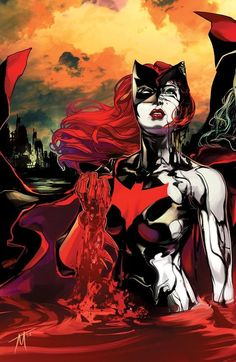 Batwoman Cover art by Trevor McCarthy Batwoman, Nightwing, Dc Batgirl, Comic Book Characters, Comic Character, Comic Books Art, Comic Art, Superhero Characters, Female Characters