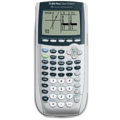 Amazon.com: Texas Instruments TI-84 Plus Silver Edition Graphing Calculator (Packaging may vary): BANTA BOOK GROUP: Electronics