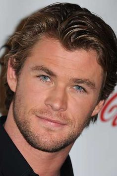 Chris Hemsworth - Thor! His eyes.................