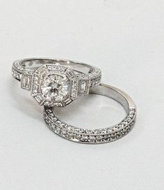 Antique style diamond engagement ring with matching diamond wedding band..... #Kalfin #kalfinjewellery #diamondengagementrings #diamonds #diamondweddingrings #designer #designerjewellery #designerjewellers #madetoorder #melbournejewellers #melbournejewellery #love #fashion #beautiful #antiquejewellery #antiquejewelry #handmade #engagementrings #diamonds #weddingrings #blogs #fashionbloggers #style #custommade #wedding #couture #diamondjewelley #diamondjewelry #style #melbournecbd #