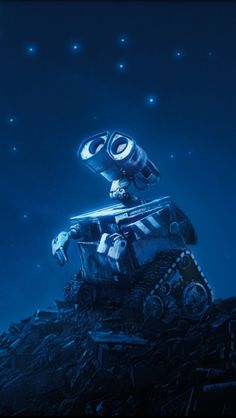 Wall-E (stylized with an interpunct as WALL·E) is a 2008 American CGI science-fiction romantic comedy film produced by Pixar Animation Studi. Disney Pixar, Disney Amor, Film Disney, Art Disney, Disney Kunst, Disney And Dreamworks, Disney Animation, Disney Magic, Disney Characters