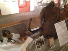 Salvation Army WWI Doughnut Girl uniform, personal possessions and issued equipment.  http://corps.salvationarmyindiana.org/fortwayne/about-us/history-2/history-of-the-donut-girls/