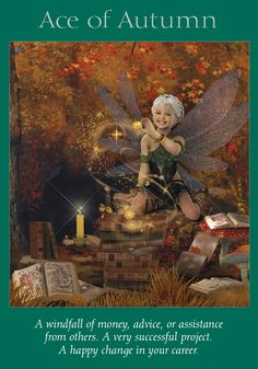 Oracle Card Ace of Autumn | Doreen Virtue - Official Angel Therapy Website