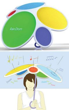 Rain Drum Umbrella! Awesome!