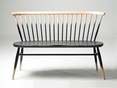 Ercol Love Seat Dimensions Height: 77cm (seat height: 42cm) x Width: 113cm x Depth: 53cm