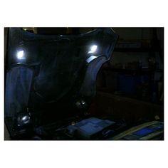 C Corvette Map Light LED SMD Rear Veiw Mirror Option C - Us map lights