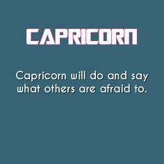 Daily Horoscope - capricorn-astrology-facts