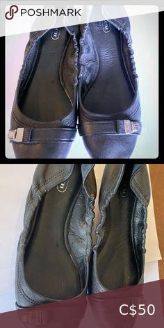 Coach Black Leather Flats Size 7 Beautiful Coach Black Leather Flats in size 7 Coach Shoes Flats & Loafers