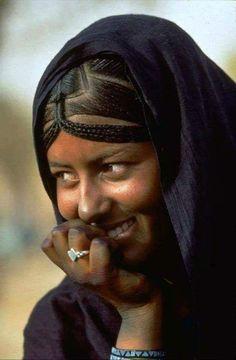 Algerian Woman from Sahara