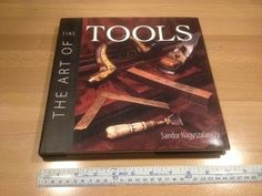 """The art of fine tools, by Sandor Nagyszalanczy 1998, it measures 10 1/4"""" x 10 1/4"""" x 3/4"""", Hardcover 232 pages, asking $30."""