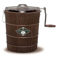 Shop for The White Mountain® 4-Quart Hand-Crank Ice Cream Maker at WhiteMountainProducts.com $179.99