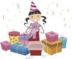 Save gifts to open after the party, during is v chaotic and can spoil the moment