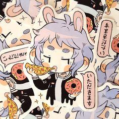 Itadakimasu Sticker
