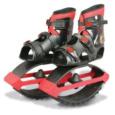 Air Kicks Anti-Gravity Running Boots, Medium (T-2) for 99-176 Lbs by Geospace. Save 6 Off!. $173.95. Suitable for children, teen and adult users weighing between 99 and 176 Lbs (aged 8 and up).. Brand New, Improved Wider Boot Design is ergonomically shaped for comfort.. Extended range of Replacement T-Springs available (sold separately) for changes in user body weight.. New 2011 AIR KICKS® models are adjustable to fit right over athletic shoe sizes: YOUTH 4-7, WOMEN 5.5 - 11.5, MEN...