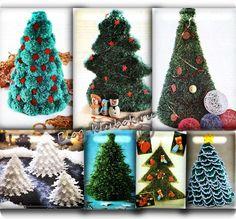 Вязаные елочки Christmas Ornaments, Holiday Decor, Home Decor, Decoration Home, Room Decor, Christmas Jewelry, Christmas Decorations, Home Interior Design, Christmas Decor