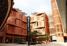 This is Masdar City, the world's first zero-carbon city. | The City Of The Future Is Here