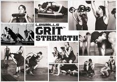 Lekker sporten - week 6  Les Mills - Grit Strenght!!