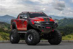 I actually appreciate this design for this car Big Rig Trucks, Ford Trucks, Pickup Trucks, Ford Ranger Truck, Ford Ranger Raptor, Ford Ranger Modified, Black Rhino Wheels, Ford Ranger Wildtrak, Tundra Truck