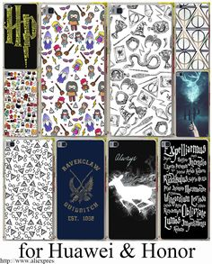 Harry potter film posteri sert şeffaf case kapak için huawei p6 p7 p8 p9 lite artı & honor 6 7 4c 4x g7 case kapak