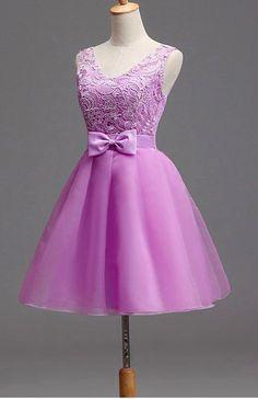 Vestido Dama Debutante Festa 15 Anos Bordado Com Tule - R$ 129,00