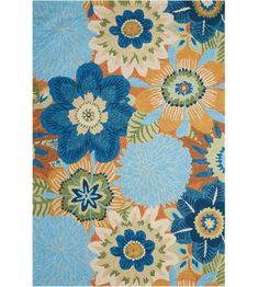 You'll love the Hae Aqua Indoor/Outdoor Area Rug at Wayfair - Great Deals on all Rugs products with Free Shipping on most stuff, even the big stuff.