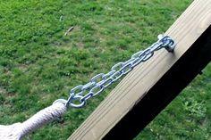 How to Make a Free-Standing Hammock Stand | Hunker Diy Hammock, Backyard Hammock, Outdoor Hammock, Hammock Stand, Hammocks, Easy Woodworking Projects, Diy Wood Projects, Outdoor Projects, Diy Outdoor Furniture