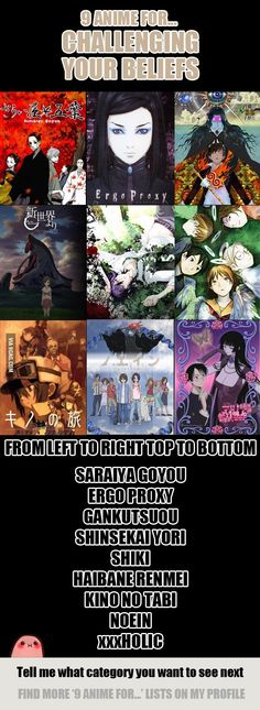 9 Anime For Challenging Your Beliefs
