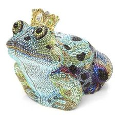 judith leiber, handbag, clutch, bag, crystal, sparkle, cake, teapot, animal, wildlife - JUDITH LEIBER CRYSTAL CLUTCH BAGS - handbag.com