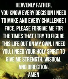 Praying to God to ask for guidance is the only way to heal from spiritual abuse.